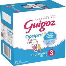 Guigoz GUIGOZ Lait de croissance liquide dès 10 mois