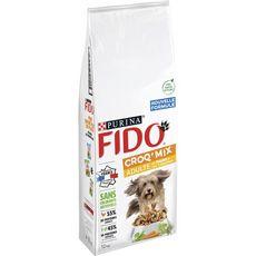 PURINA Fido croq'mix croquettes au poulet légumes pour chien 12kg