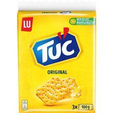 TUC Crackers salés original lot de 3 3x100g