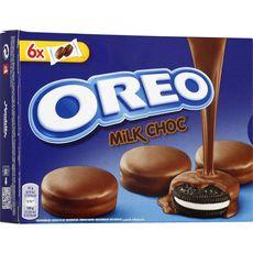 OREO Biscuit enrobé de chocolat au lait 246g