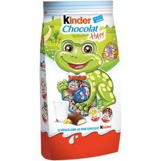 KINDER Kinder Médaillon Bonbons de chocolat supérieur au lait sachet 102g 102g