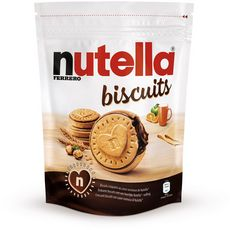 NUTELLA Biscuits fourrés de pâte à tartiner 22 biscuits 304g