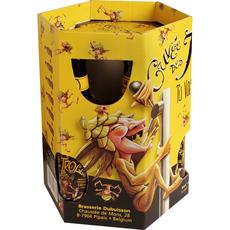 CUVEE DES TROLLS Cuvee des trolls Coffret bière blonde 7% bouteilles 6x25cl +1 verre 6x25cl