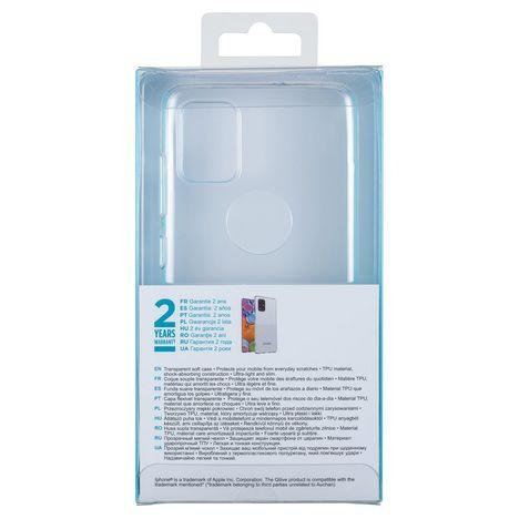 QILIVE Coque pour Samsung Galaxy A51 - Transparent