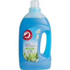 AUCHAN Fresh et clean lessive liquide air de printemps 37 lavages 2l