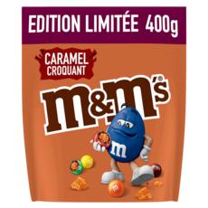 M&M'S Bonbons au caramel croquant enrobés de chocolat 400g