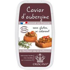 CRUSCANA Caviar d'aubergines à tartiner ou mitonner 30-35 portions 150g