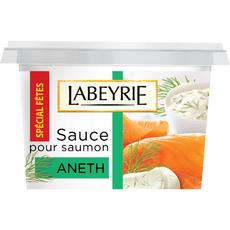 LABEYRIE Sauce pour saumon à l'aneth 145g