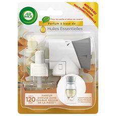 AIR WICK Diffuseur électrique vanille caramel + 1 recharge 1 diffuseur 19ml
