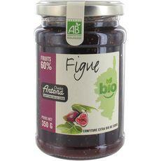 CHARLES ANTONA Confiture de figue bio 60% fruits 350g