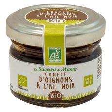 LUCULLUS Confit d'oignons à l'ail noir bio 60g