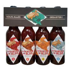 Bière pack de 4 bouteilles 4x33cl