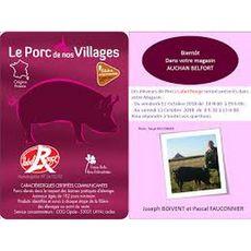 LE PORC DE NOS VILLAGES Filet de porc sans os à rôtir label rouge 4 personnes 750g