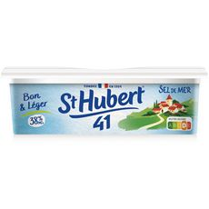 ST HUBERT Margarine demi sel allégée à tartiner 250g