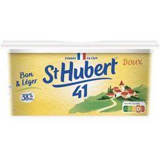 ST HUBERT 41 Margarine doux allégée à tartiner 500g