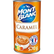 MONT BLANC Crème dessert saveur caramel 570g