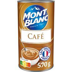 MONT BLANC Crème dessert saveur café 570g