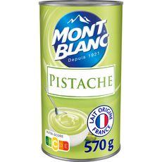 MONT BLANC Crème dessert saveur pistache 570g