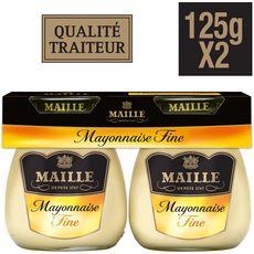 Maille Mayonnaise fine fraîche aux œufs 2x125g