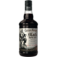 CAPTAIN MORGAN Black Spiced Rhum brun 40%