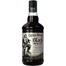 CAPTAIN MORGAN Black Spiced Rhum brun 40% 70cl