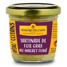 MAISTRES OCCITANS Tartinade de foie gras au magret fumé 90g
