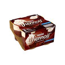LE VIENNOIS Le Viennois L'original yaourt au chocolat 4x100g 4x100g