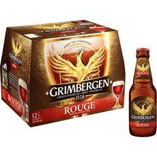 GRIMBERGEN Bière rouge 6% bouteilles 12x25cl