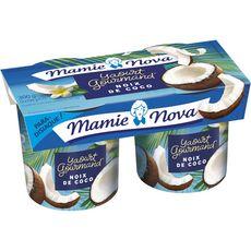 MAMIE NOVA Yaourt brassé à la coco 2x150g