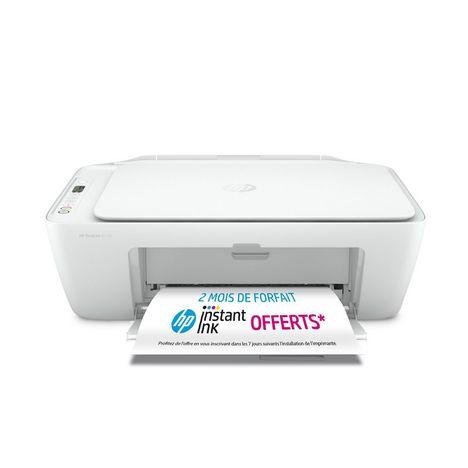 HP Imprimante DeskJet 2710 multifonction Blanche - Compatible Instant Ink