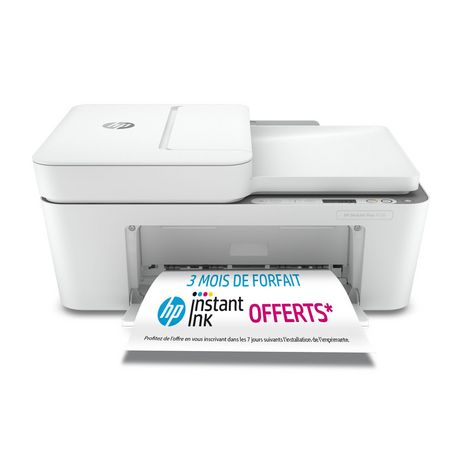 HP Imprimante DJ 4120 Blanc - Compatible Instant Ink