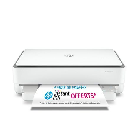 HP Imprimante Envy 6030 Blanche - Compatible Instant Ink