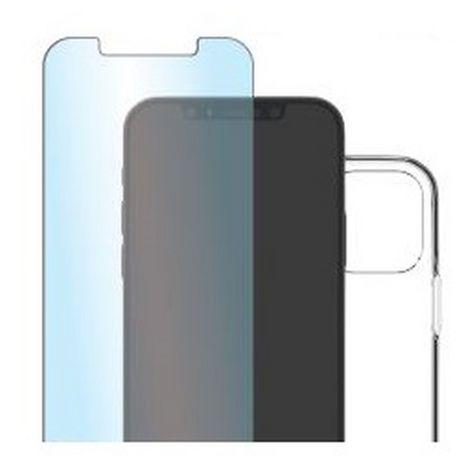 QILIVE Pack coque + protection d'écran pour iPhone 12 et 12 Pro