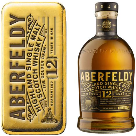 ABERFELDY Coffret Scotch whisky single malt 12 ans 40%