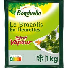 BONDUELLE Brocolis en fleurette 5 portions 1kg
