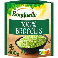 BONDUELLE Brunoise de brocoli 3 portions 400g