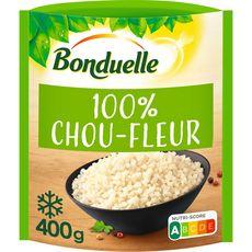 BONDUELLE Brunoise de choux-fleur 3 portions 400g