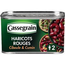 CASSEGRAIN Haricots rouges, touche de ciboule et cumin 250g