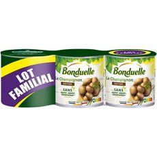 BONDUELLE Bonduelle Champignons entiers au naturel 3x230g 3x230g