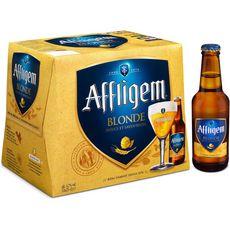 AFFLIGEM Affligem Bière blonde belge d'abbaye 6,7% bouteilles 12x25cl 12x25cl