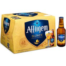 AFFLIGEM Bière blonde belge d'abbaye 6,7% bouteilles 20x25cl