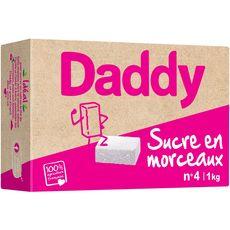 DADDY Sucre en morceaux n°4 1kg