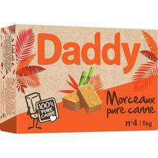 DADDY Sucre pure canne en morceaux 1kg