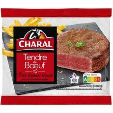 CHARAL Tendre de boeuf 2 pièces 240g