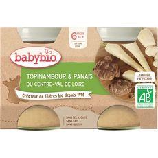Babybio BABYBIO Petit pot topinambour et panais bio dès 8 mois