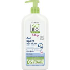 SO BIO ETIC Baby gel lavant aloé vera et camomille bio 500ml