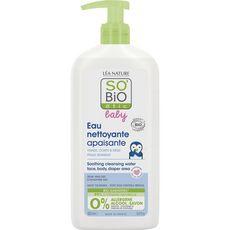 SO BIO ETIC Baby eau micellaire nettoyante aloé vera camomille bio 500ml