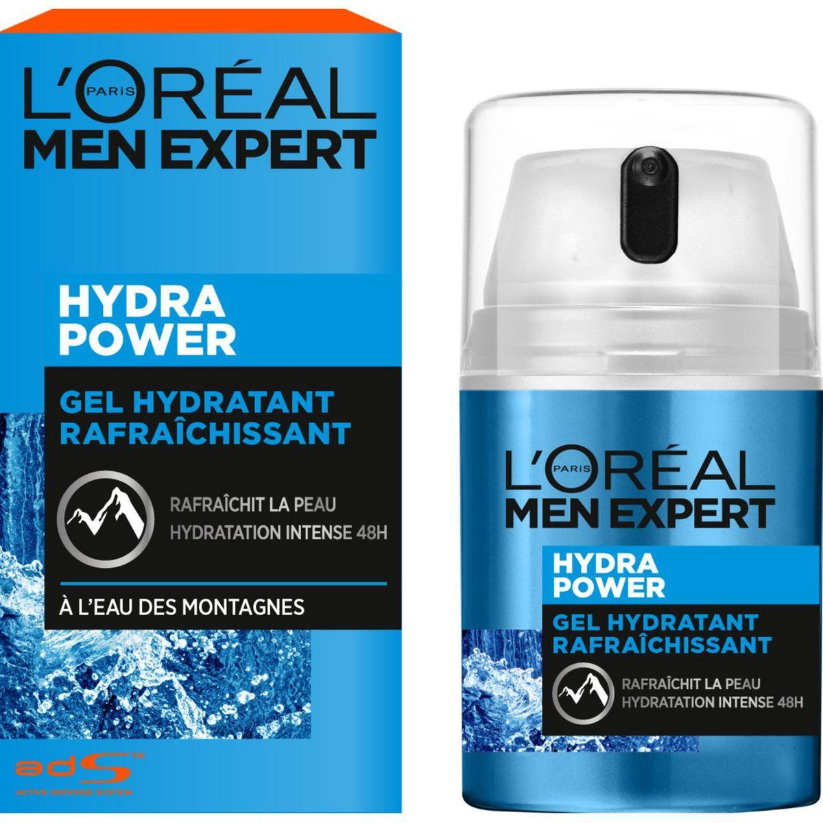 L'Oréal Men Expert Hydra Power soin hydratant 48h flacon 50ml