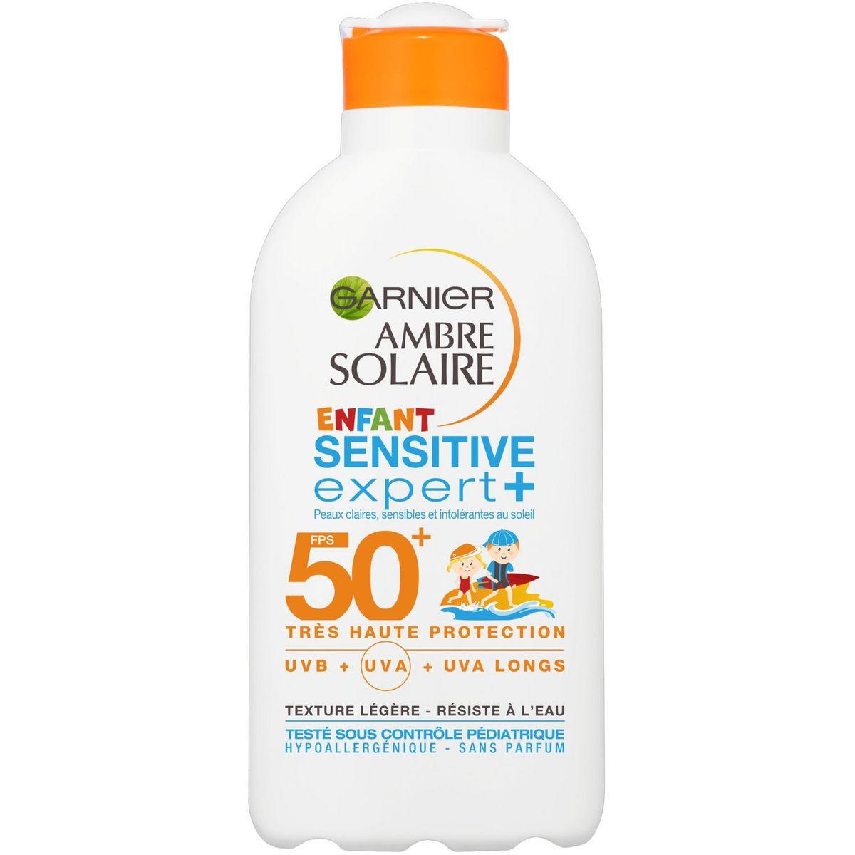 Garnier Ambre Solaire Crème solaire bébé très haute protection SPF50+ 50ml