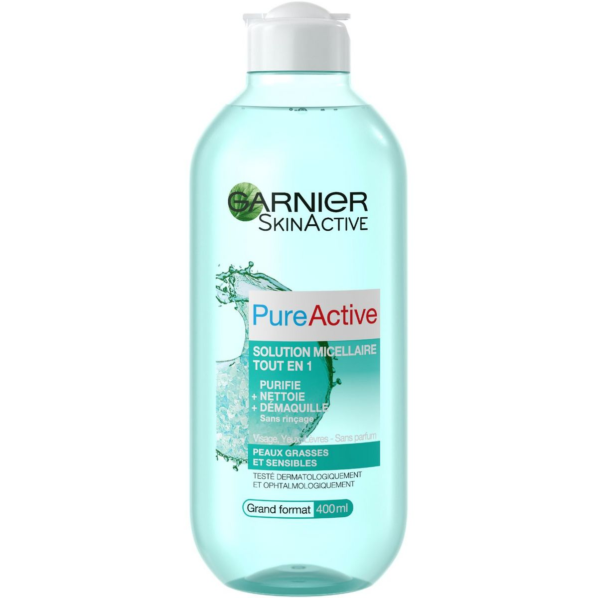 Garnier PureActive solution micellaire peaux mixtes, grasses et sensibles